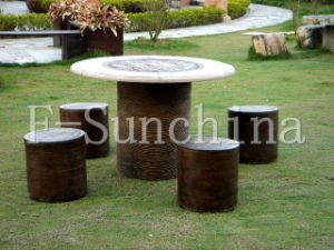 Outdoor Culture Stone Table