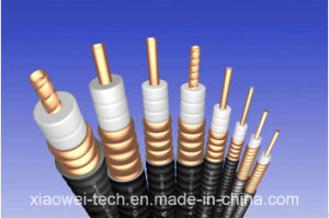 "7/8"" RF Communication Feeder Coaxial Cable pictures & photos"