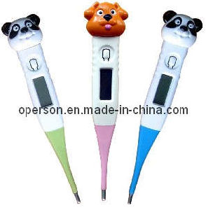 Cartoon Digital Thermometer with Soft or Hard Tip pictures & photos