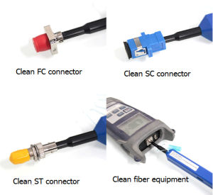 One- Click Sc FC St Connector Cleaner 2.5mm pictures & photos