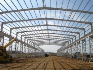 Hot DIP Galvanzied Steel Structrue Building (SSW-44)