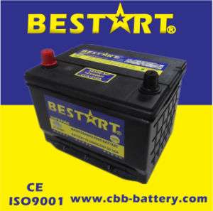 12V60ah Premium Quality Bestart Mf Vehicle Battery Bci 58500-Mf pictures & photos
