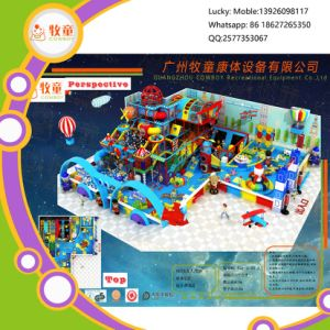 2017 Newest Teddy Bear Indoor Soft Playground From Cowboy Factory pictures & photos