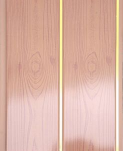 PVC Panel for Wall or Ceiling (LF4) Groove in The Middle pictures & photos