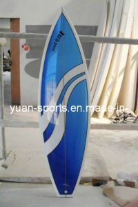 High Quality Short Surfboard Hard, Popular Stand up Paddle Board Blue pictures & photos