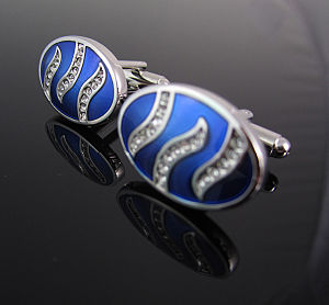 Novelty Crystal Cufflinks pictures & photos