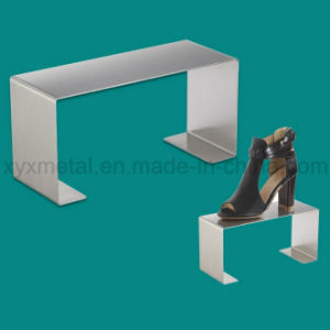 Stainless Steel Shoes Exhibition Holder Height Adjustable Table Display Rack pictures & photos