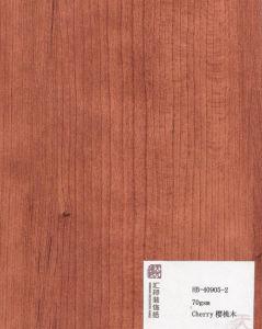 Cherry Decorative Paper (HB-40905-2) pictures & photos