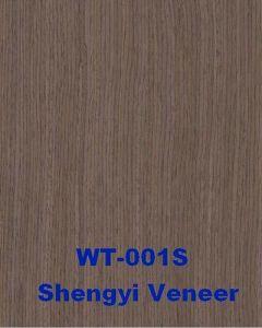 Engineered Decorative Wood Veneer Walnut (WT-001S)