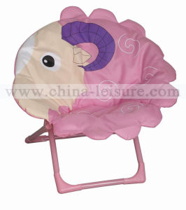 Kids′ Moon Chair with Cartoon Design (NUG-C121-25)