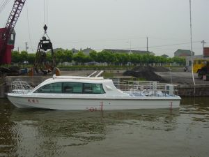 20seats Inboard Diesel Engine Speed Passenger Crewferry Boat for Sale pictures & photos