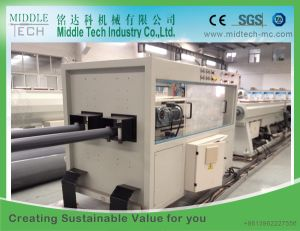 (China wholesale price) High Speed PVC Dual Water Pipe Making Machine pictures & photos