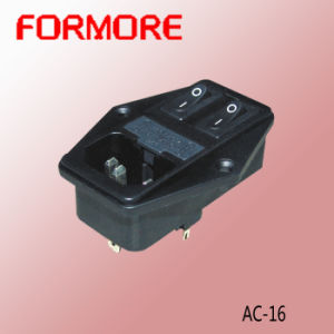 AC Power Socket with Switch and Fuse pictures & photos