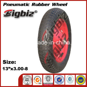 China Cheap 3.00-8 Rubber Wheel Manufacturer Rubber Wheel pictures & photos