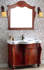 Solid Wood Bathroom Cabinet (TC3915)