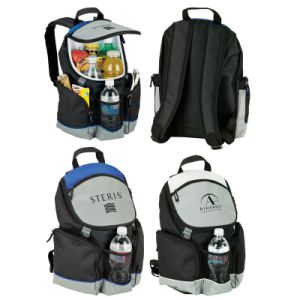 Promotional Ooutdoor Camping 16can Plus Backpack Cooler