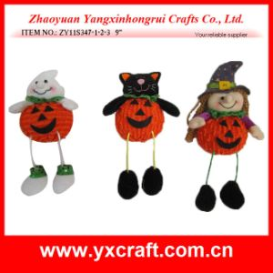 Halloween Ghost Black Cat and Witch Decoration pictures & photos