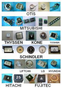 Elevator Push Button Schindler