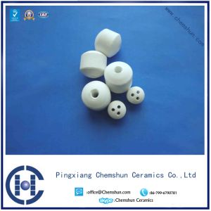 99% Alumina Ceramic Ball with Hole as Catalyst Support Bed pictures & photos