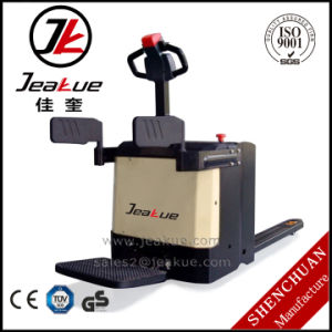 2.0-2.5t Hot Sale Walkie Full Electric Pallet Truck Jeakue Ep20 Ep25 pictures & photos