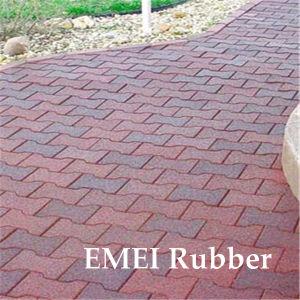 En1177 Certificated Garden Rubber Flooring Tiles In China