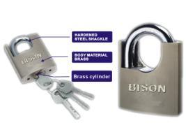 Arc Type Wramped Beam Padlock (2505) pictures & photos