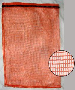 PP Leno Mesh Bag/ Vegetable Bag/ Drawstring Handling pictures & photos