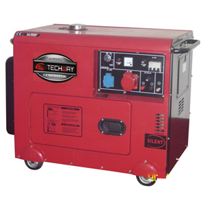 Tw7000A (E) 7kw Silent Diesel Generator pictures & photos