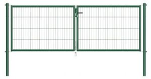 Double Type Fencing Gate