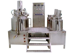 Inside and Outside Circle Vacuum Emulsifying Machine (XY-AII) pictures & photos