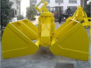 Motor Clamshell Grab for Excavator with Ce Certificate pictures & photos