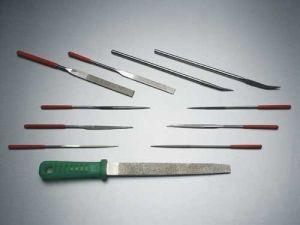 Diamond Needle Flat Files