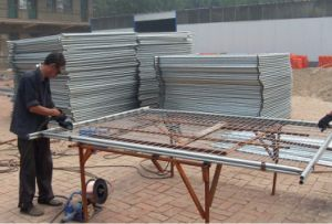 Galvanized Square Hole Welded Wire Mesh
