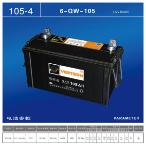 Batteries Lead Acid with Mf Battery DIN75 pictures & photos