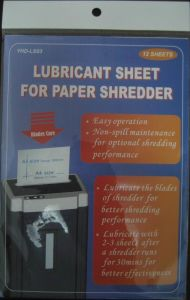 Lubricant Sheet - 2