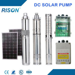 China Top Quality DC Submersible Solar Water Pump Price for Irriation (Submersible Solar Pump) (5 Years Warranty) pictures & photos