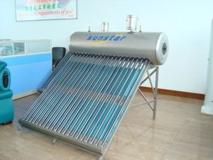 Non-Pressure Solar Water Heater (SS-470-58/1500) With Solar Keymark En12975, SRCC, CE pictures & photos