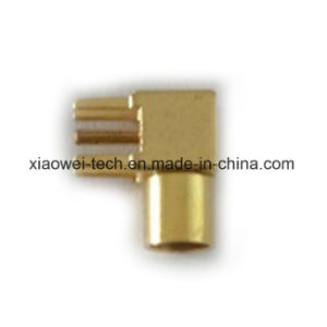 MMCX Female Right Angle PCB Connector pictures & photos