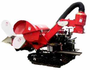 Model: 4lz-0.8 Small Combine Harvester pictures & photos