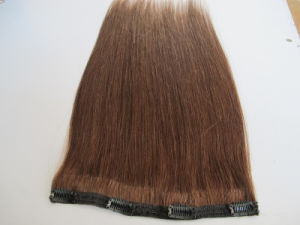 European Straight Human Remy Hair Clip in Extensions Hhci-24 pictures & photos