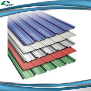 Colorful Zinc Coated Roof Cover Gi Corrugated Sheet
