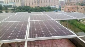 (HM265M-60-1) China Best Pricemono-Crystalline Solar Panel 265watt pictures & photos