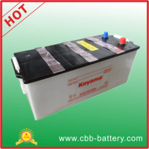 Manufacture 12V 170ah Lead Acid Dry Charge Truck Battery Heavy Duty Automotive Battery N170 pictures & photos