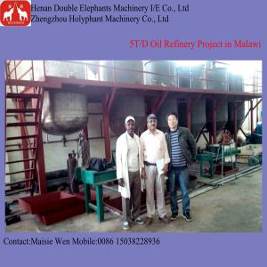 Small Type 1t-5t Per Day Vegetable Oil Refinery Equipment pictures & photos