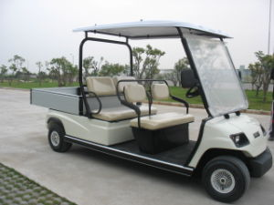 4 Seaters White Electric Cargo Car pictures & photos