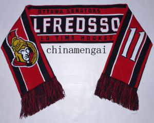 Football Scarf Soccer Scarf (LJ-1011) pictures & photos