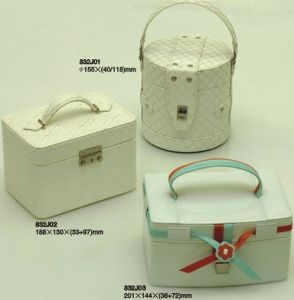 Leather Jewelry Box (P32)