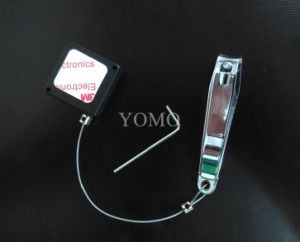 Black Square Anti-Theft Security Tether for Eyeglasses