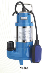 Stainless Steel Sewage Pump (V180F(WQ5-5-0.18) pictures & photos