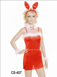 Halloween Costume/Party Costume/Bunny Girl Costume (CS-407)